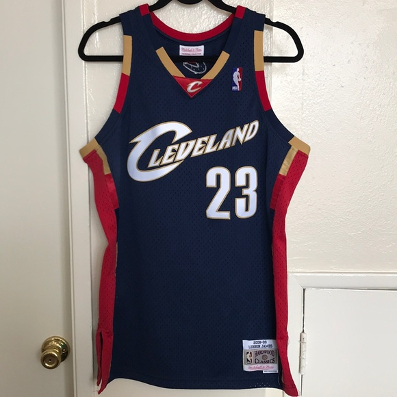 new style 66590 ca6b7 Cleveland Cavaliers LeBron James jersey
